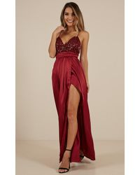 Showpo - Carmen Maxi Dress - Lyst