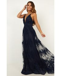 Showpo - Promenade Maxi Dress - Lyst