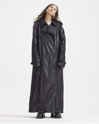 Maison Margiela - Double-breasted Trench Coat - Lyst