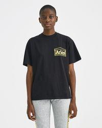 Aries - Black Graphic Four Squares T-shirt - Lyst