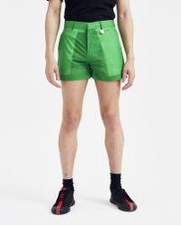 Xander Zhou Cropped Short - Green