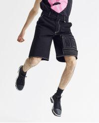 Xander Zhou Cargo Short - Black