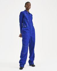 Aries - Blue Boilersuit - Lyst
