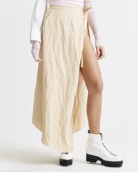 Y. Project - Skirt Side Slit Skirt - Lyst