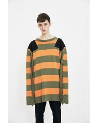 Liam Hodges - Stripe Knit Sweater - Lyst