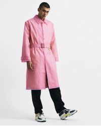 Martine Rose - Frosted Rain Coat - Lyst