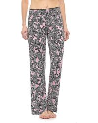 Cynthia Rowley Picot Pajama Pants (for Women) - Pink
