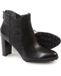 Adrienne Vittadini - Trini Leather Booties - Lyst