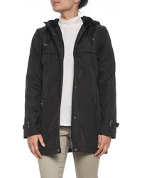 Weatherproof - Hooded Bonded A Line Jacket - Lyst