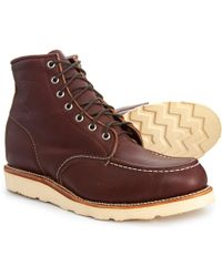 Chippewa - Moc Toe Lace-up Boots - Lyst