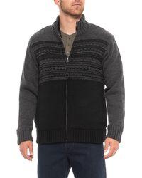 Tricots St Raphael - Fair Isle Sweater Jacket (for Men) - Lyst