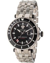 Versace - V-race Driver Watch - Lyst
