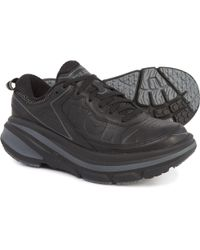 Hoka One One - Bondi Leather Shoes - Lyst