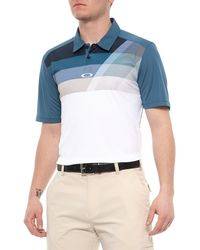 2f22462a56 Lyst - Oakley Elemental 2.0 Golf Polo in Blue for Men