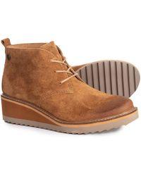 Söfft - Saige Wedge Boots - Lyst