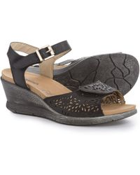 ff81211148cd Lyst - Romika Nevis 05 Leather Sandal in Brown