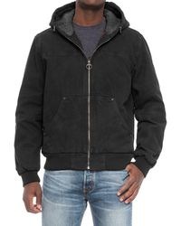 G.H.BASS - Heavy Cotton Canvas Hooded Jacket (for Men) - Lyst