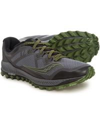 Saucony Peregrine 7 Trail Running Shoes (for Men) in Green