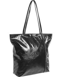 Latico - Raw-edged Top-zip Leather Tote Bag (for Women) - Lyst