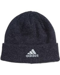 b4518fb4535 Lyst - Adidas Climawarm® Core Fold Beanie (for Men) in Black for Men