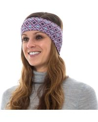 Hot Chillys - Printed Fleece-lined Ear Band (for Women) - Lyst