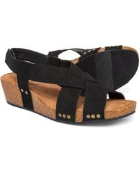 92cfd303ab3 Lyst - Me Too Betty Espadrille Wedge Sandal in Blue