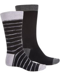 Frye - Random Knit Stripe Socks - Lyst