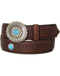 Lejon - Large Buckle Leather Belt - Lyst