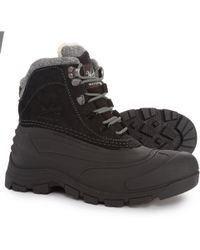 Woolrich - Fully Wooly Green Bay (black) Men's Waterproof Boots - Lyst