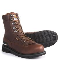 "Carhartt - 8"" Low Logger Work Boots - Lyst"