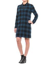 Beach Lunch Lounge - Carly Flannel Shirt Dress - Lyst