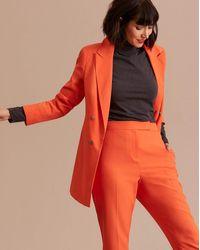 Simply Be Orange Mix & Match Fashion Blazer