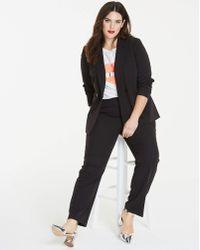 Simply Be - Tailored Longline Blazer - Lyst