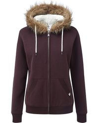 Tog 24 - Tog24 Clough Womens Sherpa Lined Hoody - Lyst