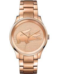 Lacoste - Ladies Bracelet Watch - Lyst
