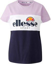 Ellesse - Casalta Cut And Sew T-shirt - Lyst