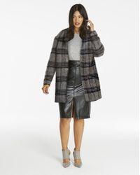 Simply Be - Wool Shawl Collar Coat - Lyst