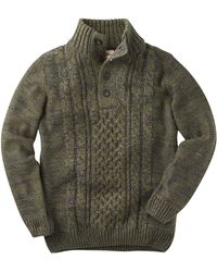 Simply Be - Joe Browns Fabulous Funnel Cable Knit Jumper - Lyst