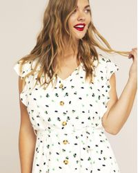Simply Be - Violeta By Mango Button Through Dress - Lyst