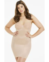 Simply Be - Magisculpt Jacquard Underwired Full Slip Firm Control - Lyst