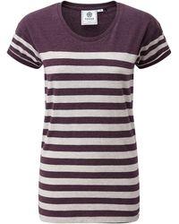 Tog 24 - Tog24 Shea Stripe Womens T-shirt - Lyst