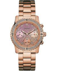 Guess - Ladies Confetti Bracelet Watch - Lyst