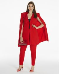 Simply Be - By Night Cape Jacket - Lyst