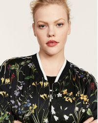 Violeta by Mango - Floral Bomber - Lyst