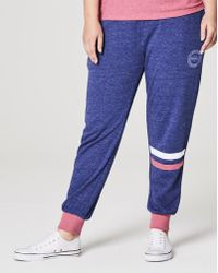 Simply Be - Label Be Cuffed Sweatpants - Lyst