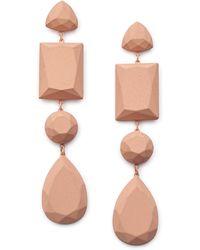 Simply Be - Matte Earrings - Lyst