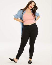 Anthology Denim - Petite Lucy High Waist Skinny Jeans - Lyst