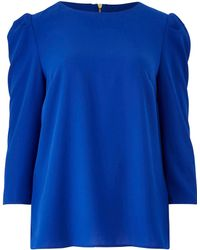 Oasis - Curve Puff Sleeve Blouse - Lyst