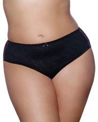 Ashley Graham - High Cut Panty - Lyst