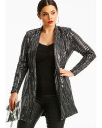 Simply Be - Joanna Hope Sequin Jacket - Lyst